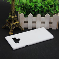 3D Sublimation Blank Phone Cases for Samsung Galaxy S8 S9 Note 8 Note 9 for s7 s6 edge note 5 Hard Case