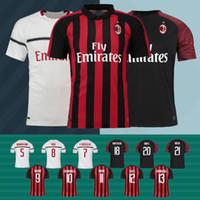 9f8e1e96c5d Size S- 3XL Higuain Milan Jersey 18 19 KESSIE BONUCCI ANDRE S..