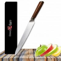 GRANDSHARP 8 Zoll Fleischmesser Authentic Deutsch Molybdän Vanadium Stahl DIN1.4116 Lachs Carving Küchenmesser Chef Kochen Werkzeuge