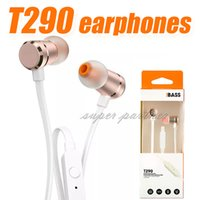 T290 wired HIFI earphone high quality Noise cancelling sport...