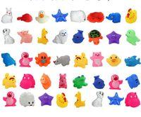 Sıcak Bebek Banyo Oyuncakları Su Ördek Sesler Mini Denizyıldızı Fil Balık Çocuk Banyo Küçük Ördek Oyuncaklar Yüzme Plaj Hediyeler Ücretsiz Kargo