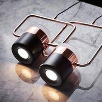 Светодиодные современные минималистские бар ресторан подвесные лампы Multi-Head Molecular вращающийся свет Nordic спальня тумбочка металлические огни