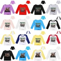 Fortnite Cosplay T- Shirts children cotton Cartoon Print Tops...