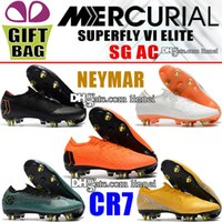 Low CR7 Soccer Shoes Cristiano Ronaldo Mercurial Superfly VI...