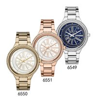2018 Fashion Women' s Watch Crystal Rose Gold 6551 Gold ...