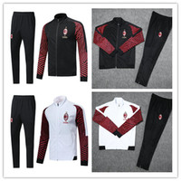 AC Milan tracksuit survetement jacket set 2018 19 HIGUAIN CA...