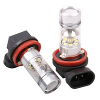 9005 9006 100W 20 SMD Car Auto LED Fog Lamps DRL Daytime Run...