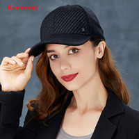 1a0b0777b8f Wholesale kenmont hats online - Kenmont hard hat brim black baseball girl autumn  winter outdoor leisure