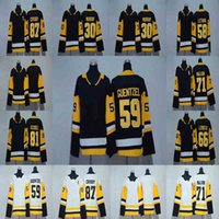 Lady Saison 2017-2018 87 Sidney Crosby 81 Phil Kessel 71 Evgeni Malkin 66 Mario Lemieux 30 Matt Murray 59 Jake Guentzel Maillots de Hockey