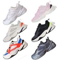 new arrival f4757 279d1 HOT Ins M2K Tekno Designer Trends Dad Zapatos para correr Clásico Casual  Hombres Mujeres Zapatos de