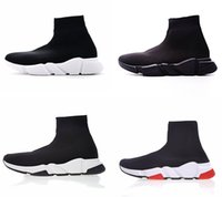 Sock shoes Mens designer luxury Casual Shoes black white wom...