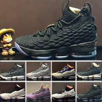 2018 New Arrival LE 15 EQUALITY Black White Basketball Shoes...