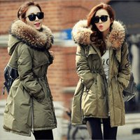 High Quality Faux Raccoon Fur Winter Jacket Lady Fur Collar ...