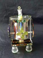 Bottiglia di acqua di vetro di cristallo di colore, tubi all'ingrosso del bruciatore di olio di Bongs Tubi di acqua Condotti dell'olio di vetro che fumano trasporto libero