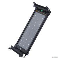 30-50 cm 수족관 LED 조명 물고기 탱크 조명 램프 확장 가능한 브래킷 30 화이트 6 파란색 LED 수족관 조명에 적합