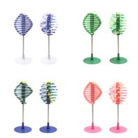 Creative Rotate Lollipop Circle Toys Fisher Series Ornament ...