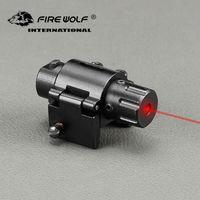 2018 Nuovo L2028 Laser Caccia Mini tattico laser di colore rosso di vista di pistola per pistole supporto del tessitore di caccia di vista del laser