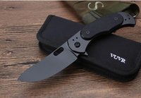 2017NEW VUCR knives pocket folding knife D2 blade STEEL+ G10H...