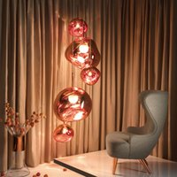modern Tom DIXON Melt Pendant Lights Glass Lava Irregular Ha...