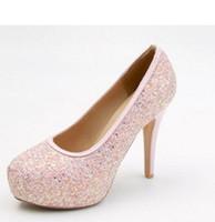 Free send Hot 2018 Korean fashion new style waterproof table Fine heel high heel women single shoes