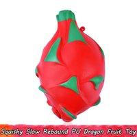 1 PCS Dragon Fruit Squishy Enfants Jouets Slow Rising Squishies Jouet Squeeze pour Décor À La Maison Stress Relief Cadeaux pour Adolescents Adultes Parfumé Ornement