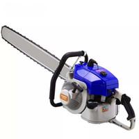 Yüksek kaliteli bahçe aletleri 070 benzinli testere kesme makinası 36 inç zincir ve kılavuz çubuğu ile