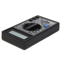 DT832 Dijital Multimetre Test Cihazı LCD Mini Multimetre AC DC Voltmetre Ampermetre Ohm Metre Otomatik Polarite Ekranı