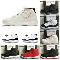 Men 11 11s Basketball Shoes Platinum Tint Concord 45 WIN LIK...
