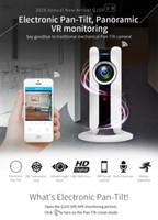 Nouveau 720P HD 180 angle Panoramique VR Vision Nocturne CCTV Caméra de Surveillance Caméra Mini WI-FI IP Sécurité à Domicile Caméra Audio Moniteur Bébé Caméra IP