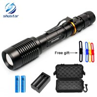 Shustar XM- L T6 L2 LED Flashlights Torch 8000Lumens zoomable...