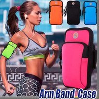 Sport Armband Cover Case Running Jogging Arm Band Pouch Holder Bag per 4-6 pollici universale per telefono 2018 X XS Plus
