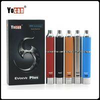 Originale Yocan Evolve Plus Kit QDC Bobine 1100mAh Wax Pen Vaporizzatore Pen E Cigs e sigarette elettroniche cig