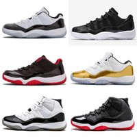High Quality Release 11 Low Cool Grey Mens Basketball Shoes ...