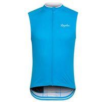 Rapha Equipo Ciclismo Sin mangas Jersey Jersey Chaleco Summer transpirable MTB Uniforme de bicicleta Seco rápido Ropa de bicicleta para hombre Ropa deportiva S21030934