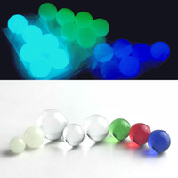 New luminous quartz terp pearl with 6mm 8mm colorful insert ...