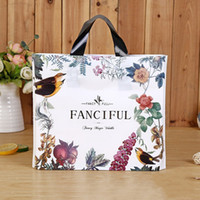 Flowers and birds Fashion Printing Shopping Bag Exquisite Ga...