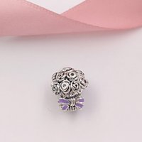 925 Sterling Silver Beads Celebration Bouquet Charm Fits Eur...