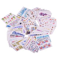 stickers nail art 200PCS Mixed Water Sticker Nail Art Decora...