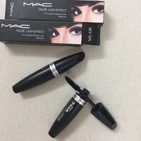 MAC M MC Macs Marca Maquillaje Mascara Falso Lash Effect Pestañas completas Look Natural Mascara Negro Impermeable 520 Ojos Maquillaje dhl FREESHIPPING