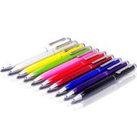 Сенсорный экран стилус Muti-fuction емкостный и шариковая ручка 2-в-1 для Iphone 7 plus Sumsang Ipad HTC и т. д. Все смарт-сотовый телефон