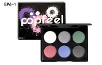 Nouvelle marque POPFEEL 6 couleur maquillage mat palette de fard à paupières palette de maquillage Pigment Maquillage Outils