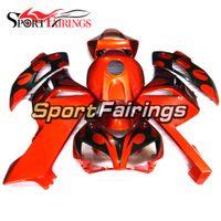 Инъекционные ABS Plastic Full Fallings для Honda CBR1000RR 2004 2005 04 05 год CBR1000 RR Capling Covlings Body Kit Panels покрывает оранжевый черный новый