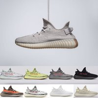 2018 Top quality 350 V2 soft bottom Butter Sesame Blue Tint ...
