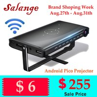 Salange P2 Android Projector WiFi Pico Video Projector Suppo...