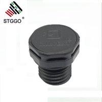 Respiradouros de proteção M12x1.5 de cor preta PMF100320 para luzes de túnel de luz de rua de Ourdoor
