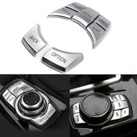 iDrive Multi- Media 7- Button Cover Trims for BMW 2 3 4 5 6 X5...