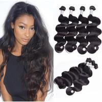 Сырые индийские человеческие пакеты волос тела свободные глубокие натуральные волны странные вьющиеся волосы плетение двойных уточков волос