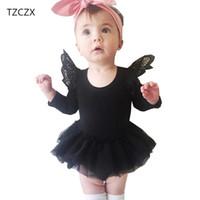 TZCZX-1820 новые девочки дети новинка симпатичные твердые полные рукава платье для 6 месяцев до 3 лет дети носят