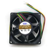 Новый оригинальный АВК DA08025B48U DC48V 0,14 а 80х80х25мм 8см 4Lines инвертор вентилятор охлаждения