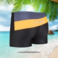 New men swimming trunks one size 50 to 75kg wearable mens tr...